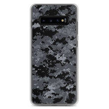 Samsung Galaxy S10+ Dark Grey Digital Camouflage Print Samsung Case by Design Express