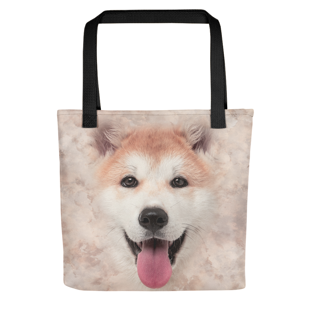 Default Title Akita Dog Tote bag by Design Express