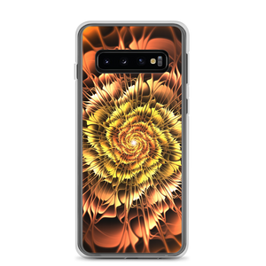 Samsung Galaxy S10 Abstract Flower 01 Samsung Case by Design Express