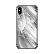 iPhone X/XS White Feathers iPhone Case by Design Express