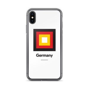 "iPhone X Germany ""Frame"" iPhone Case iPhone Cases by Design Express"