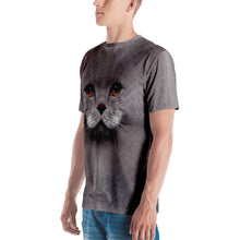 "Cat ""All Over Animal"" Men's T-shirt All Over T-Shirts by Design Express"