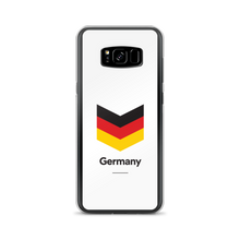 "Samsung Galaxy S8+ Germany ""Chevron"" Samsung Case Samsung Case by Design Express"