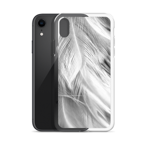 White Feathers iPhone Case by Design Express