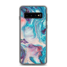Samsung Galaxy S10 Blue Multicolor Marble Samsung Case by Design Express