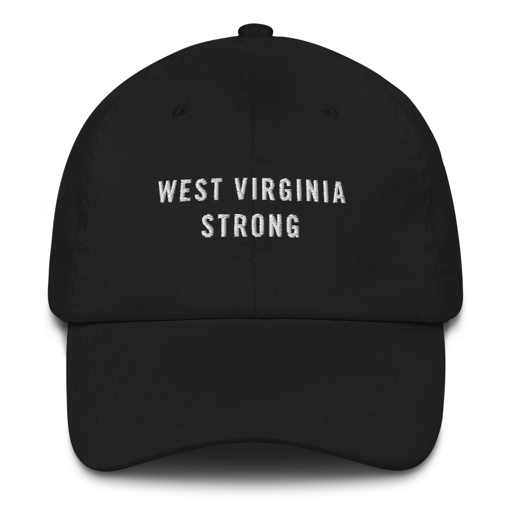 Default Title West Virginia Strong Baseball Cap Baseball Caps by Design Express