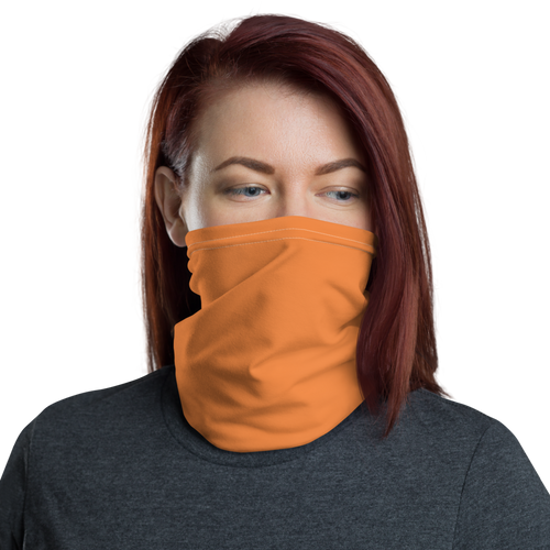 Default Title Orange Neck Gaiter Masks by Design Express