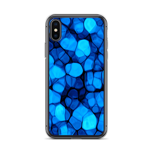 iPhone X/XS Crystalize Blue iPhone Case by Design Express