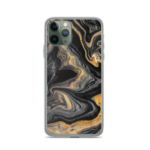 iPhone 11 Pro Black Marble iPhone Case by Design Express