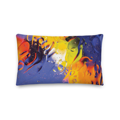 Default Title Abstract 04 Rectangle Premium Pillow by Design Express