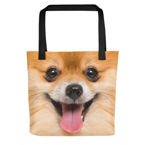 Default Title Pomeranian Dog Tote bag by Design Express