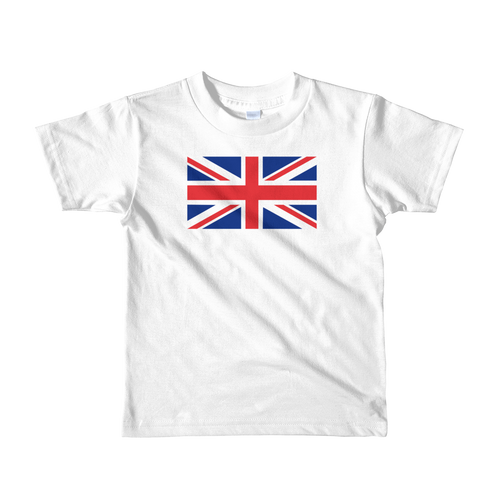 White / 2yrs United Kingdom Flag