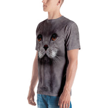 "Cat 02 ""All Over Animal"" Men's T-shirt All Over T-Shirts by Design Express"