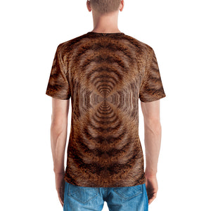 "Grizzly ""All Over Animal"" Men's T-shirt All Over T-Shirts by Design Express"