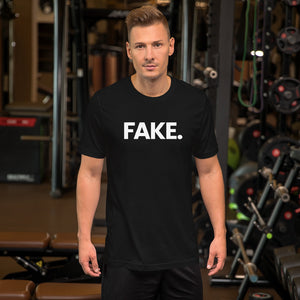 XS Fake Short-Sleeve Unisex T-Shirt by Design Express
