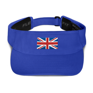 "Royal United Kingdom Flag ""Solo"" Visor by Design Express"