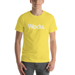 "Yellow / S Wodu Media ""Everything"" Unisex T-Shirt by Design Express"