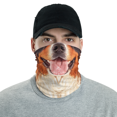Default Title Bernese Mountain Dog Neck Gaiter Masks by Design Express