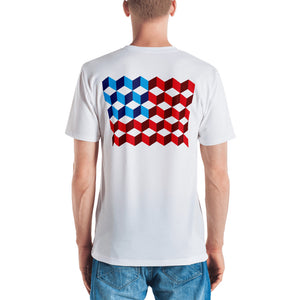 "America ""Squared"" Men's T-shirt by Design Express"