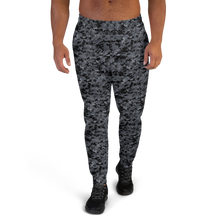 XS Dark Grey Digital Camouflage Men's Joggers by Design Express