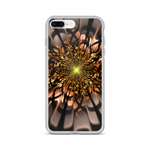 iPhone 7 Plus/8 Plus Abstract Flower 02 iPhone Case by Design Express