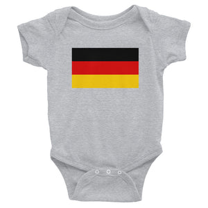 Heather / 6M Germany Flag Infant Bodysuit by Design Express