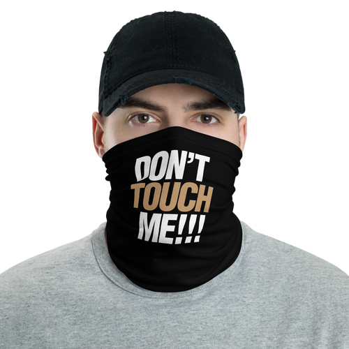 Default Title Don't Touch Me Neck Gaiter Masks by Design Express