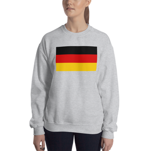 Sport Grey / S Germany Flag Sweatshirt by Design Express