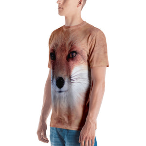 "Red Fox ""All Over Animal"" Men's T-shirt All Over T-Shirts by Design Express"