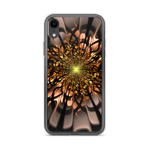 iPhone XR Abstract Flower 02 iPhone Case by Design Express