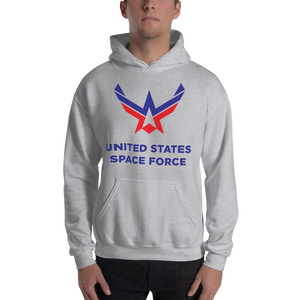 Sport Grey / S United States Space Force Hooded Sweatshirt by Design Express