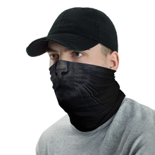 Black Cat Neck Gaiter Masks by Design Express