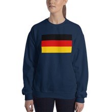 Navy / S Germany Flag Sweatshirt by Design Express