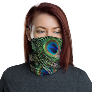 Default Title Peacock Neck Gaiter Masks by Design Express