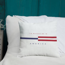 "America ""Tommy"" Square Premium Pillow by Design Express"