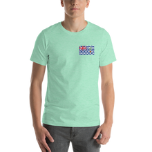 Heather Mint / S British Indian Ocean Territory Unisex T-Shirt by Design Express