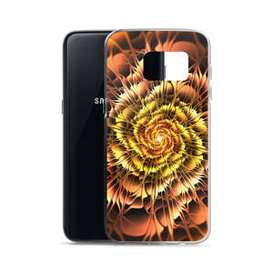 Abstract Flower 01 Samsung Case by Design Express
