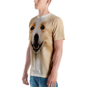 "Border Collie ""All Over Animal"" Men's T-shirt All Over T-Shirts by Design Express"