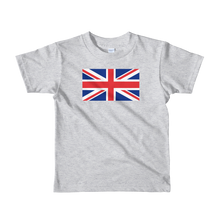 "United Kingdom Flag ""Solo"" Short sleeve kids t-shirt"