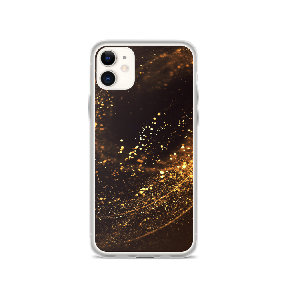 iPhone 11 Gold Swirl iPhone Case by Design Express