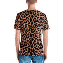 "Leopard Face ""All Over Animal"" Men's T-shirt All Over T-Shirts by Design Express"