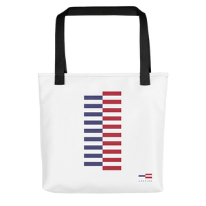 Default Title America Tower Pattern Tote bag Totes by Design Express