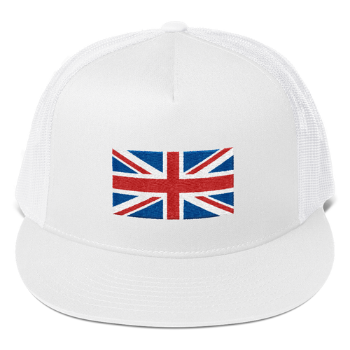 White United Kingdom Flag