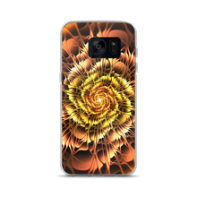 Samsung Galaxy S7 Abstract Flower 01 Samsung Case by Design Express