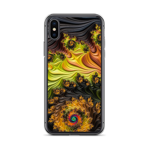 iPhone X/XS Colourful Fractals iPhone Case by Design Express