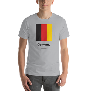 "Silver / S Germany ""Block"" Unisex T-Shirt by Design Express"