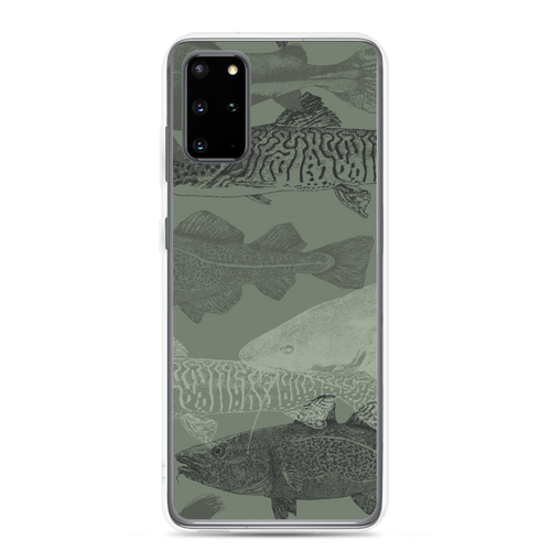 Samsung Galaxy S20 Plus Army Green Catfish Samsung Case by Design Express