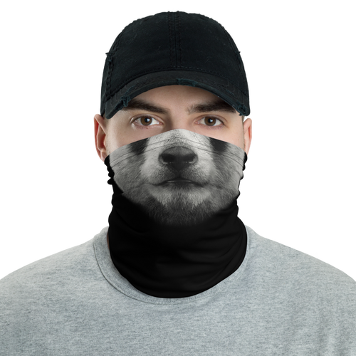 Default Title Panda Neck Gaiter Masks by Design Express