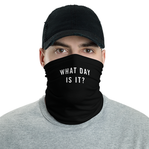 Default Title What Day Is It? Neck Gaiter Masks by Design Express