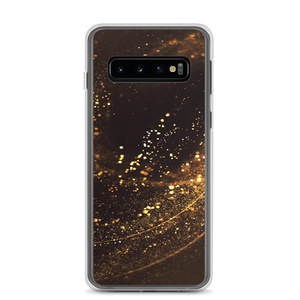 Samsung Galaxy S10 Gold Swirl Samsung Case by Design Express